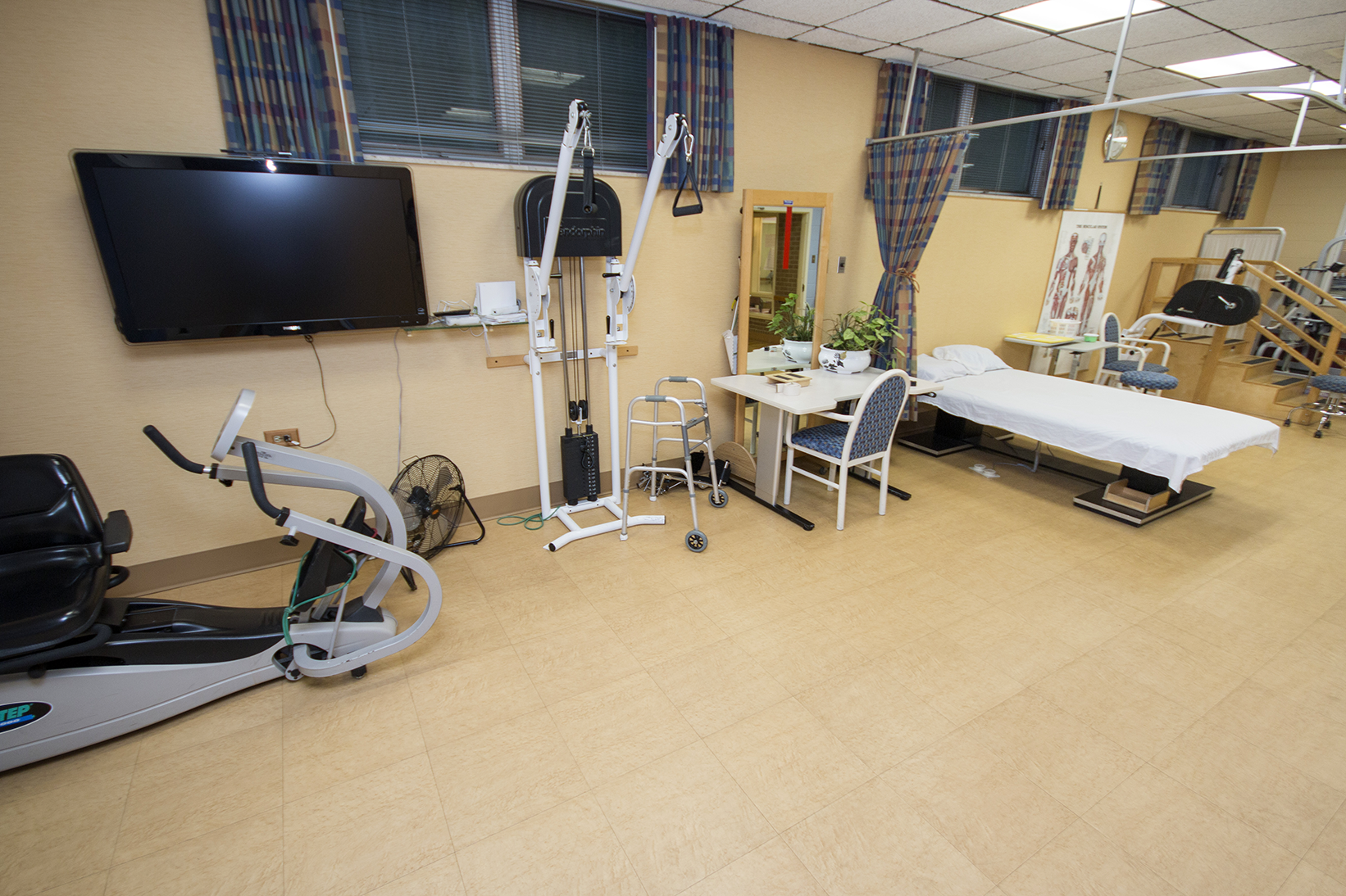 physical rehabiliation center